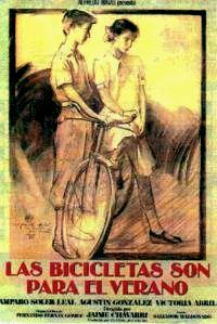 Información sobre la película de Jaime Chavarri Las bicicletas son para el verano, basada en la obra de Fernán Gómez.