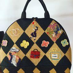 草木染めのバッグ制作 テーマ ☆ココ フォーエバー