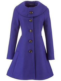 Vintage Purple Coat