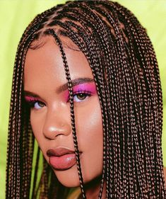 kinkz.n.curlz I've never wanted super small box braids until I seen @alissa.ashley wear them and omg she just is gorgeous in them! I need them now! 😭 What do you think?