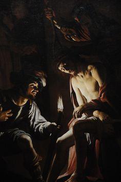 Christ Crowned with Thorns - Gerrit van Honthorst 1620 by ARTExplorer, via Flickr