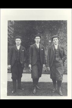 When Beatrix Potter visited the Royal Botanic Gardens Kew in 1896, she commented on the women gardeners in their knickerbockers.  Here are three of them:  Gertrude Cope, Alice Hutchins and Eleanor Morland.