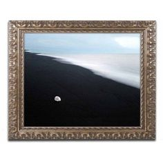 Trademark Fine Art 'Message to the Lonely' Canvas Art by Philippe Sainte-Laudy, Gold Ornate Frame, Size: 11 x 14, Multicolor