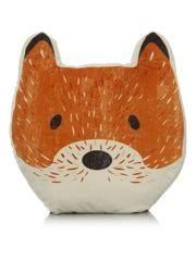 George Home Shaped Fox Cushion