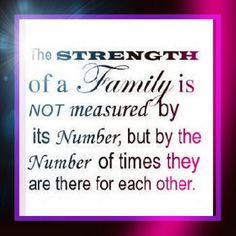 Very true! Family is EVERYTHING! <3<3