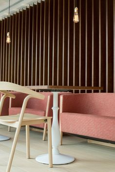 Our Makil chair in the Lotus café