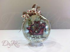 SCRAPYABALORIOS: Bolas de Navidad!!!