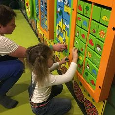 Design, manufacture and install children's play equipment and interactive events for all ages. Playground Design, Outdoor Playground, Toddler Play, Children Play, Kids Play Equipment, Indoor Play, Kid Spaces, Kids Playing, Fitness Centers