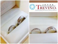 argollas mm y mm en oro blanco k con diamantes naturales diseo especial joyas trevio