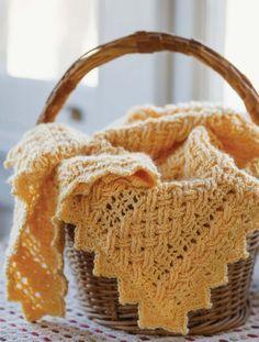 Free #crochet pattern: Hialeah Honey Blanket by Bonnie Barker via Oombawka Design