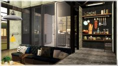 Lana CC Finds - ms-yule:   [Sims 3] Industrial House  Download &...