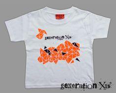 T-Shirts - T-Shirt mit grafischem Muster  Dreiecke  - ein Designerstück 505df59fe3