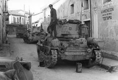 In early April Greek, Yugoslav and British commanders met to set in motion a counteroffensive, that planned to completely destroy the . Greek Soldier, World Of Tanks, Mans World, War Machine, Military History, World War Two, Military Vehicles, Ww2, Greece