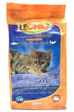 Monge Lechat Tuna and Salmon Cat Food 1.5 Kg