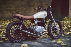Cycle 3 Custom Yamaha SR250 Cafe Racer