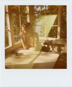 Lina Scheynius-Selbstporträt