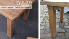 Pamplona, Outdoor Furniture, Outdoor Decor, Home Decor, House Styles, Old Wood, Cottage Chic, Dinner Table, Decoration Home