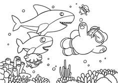 Badanamu Halloween Coloring Sheet! Get your crayons ready