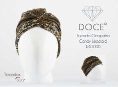 Candy Leopard #Turban #Turbante #Cancer #Fashion