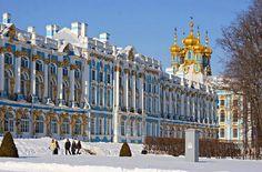 Winter visit to Catherine Palace in Tsarskoye Selo (Pushkin), south of St Petersburg, Russia Winter Palace St Petersburg, St Petersburg Russia, Imperial Palace, Imperial Russia, Ukraine, Russia Winter, Georgie, Start Of Winter, Welcome Winter