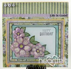 Heartfelt Creations | Botanical Rose Birthday