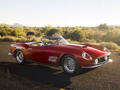 Cameron: The 1961 Ferrari 250GT California. Less than a hundred were made. My father spent three years restoring this car. It is his love, it is his passion.    Ferris: It is his fault he didn't lock the garage.