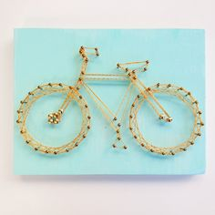 'A Summer Bike' Nail + String Art in Logan Square, Chicago ~ Krrb Classifieds