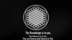 ☼ The Knowledge is in you. The Universe is in you. You are Source and Source is You ☼