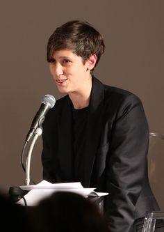 """DER ÖFFENTLICHKEIT, Talk """"The Present Moment"""", Patrizia Dander, Haus der Kunst, 06.11.14, photo Marion Vogel"""