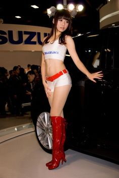 Best Car Show Girls Images On Pinterest In - Asian car show girls