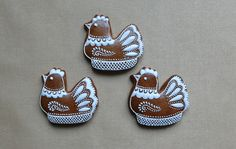 Bird Art, Cookie Decorating, Gingerbread, Ornament, Cupcakes, Easter, Sweets, Cookies, Cake Ball