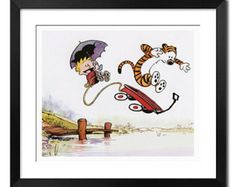 Calvin and Hobbes Extreme Sports Pos