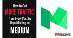How to Get More Traffic from Every Post by Republishing on Medium