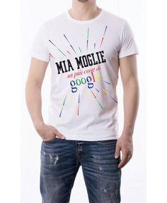 T-Shirt Mia moglie sa più cose di Google