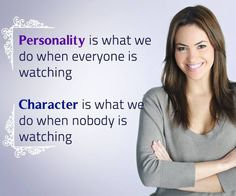 Personality - Character