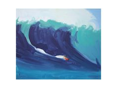 Joel Surf 2 Art Print - Limited Edition by Annie Seaton | Minted