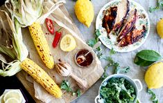 Country Life's kitchen garden cook reveals a recipe for barbecued corn on the cob with rose harissa chicken plus a couple of alternative corn on the cob recipes to try.
