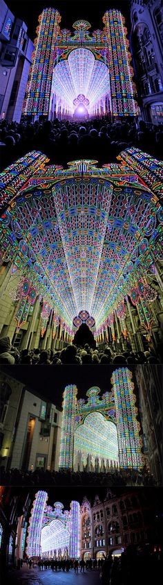 #Light_Festival - #Ghent, #Belgium http://en.directrooms.com/hotels/country/2-35/