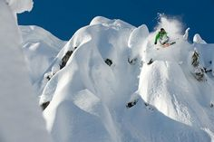 Ian Coble Skiing Photography, Snowboarder