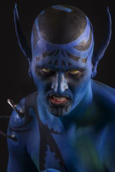 Entry 15 to the Gibraltar face and body painting festival 2014 - full body paint competition