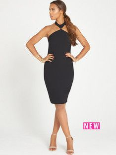 Rochelle humes black studded dress
