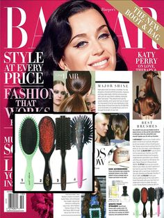 "Harper's Bazaar thinks the new Harry Josh Detangling Brush is among the ""best brushes""!"