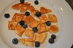 Yummy yogurt pancakes-a family favorite!
