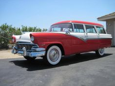 1956 Ford Country Sedan station wagon