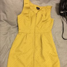 Tahari Suit Dress Zips up. Gorgeous pattern to fabric. See photo. Knee length. Tahari Dresses Midi