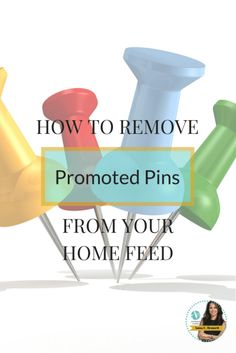 How to remove Promoted Pins and Picked for You Pins from your home feed! A new website created free extensions for the Google Chrome (desktop) and Firefox browsers. They are also working on a standalone Pinterest browsers for Android and iOS. These Pinterest only browsers will automatically hide unwanted pins. Click here to start removing Promoted Pins and Picked for You Pins http://www.whiteglovesocialmedia.com/pinterest-consultant%5C | Pinterest tips and tricks by Pinterest expert Anna Ben...