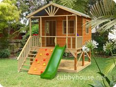 Kookaburra Loft cubby house, australian-made, wooden cubby house, diy cubby house kits, cubby houses