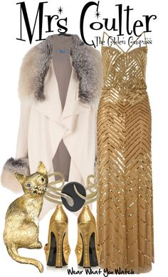 Inspired by Nicole Kidman as Mrs. Coulter in 2007's The Golden Compass.