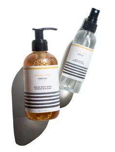 Orange Blossom Body Wash + Fresh Water Mist Set