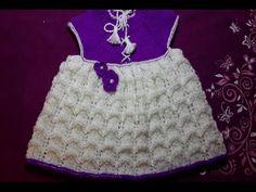 1-Платье сарафан спицами для годовалой девочки\Dress for girls (knit crochet) - YouTube